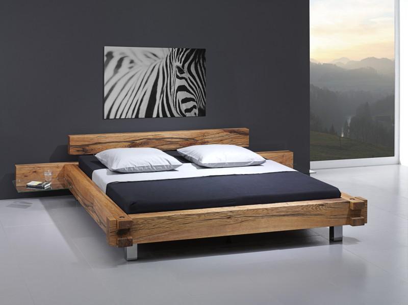Balkenbett sumpfeiche  Monti's Möbelhaus AG » Schlafbereich Modell Baltimore B6