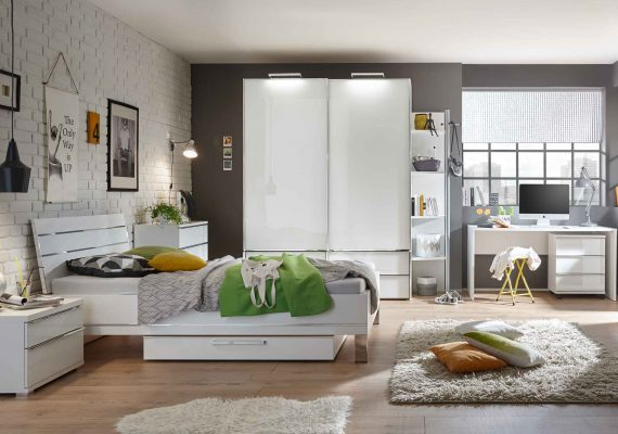 Schlafzimmer Modernes junges Wohnen