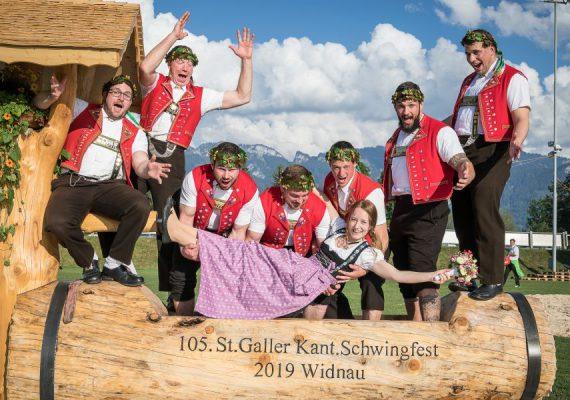 Sponsoring Schwingfest 2019 Widnau