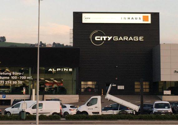 City Garage in St. Gallen