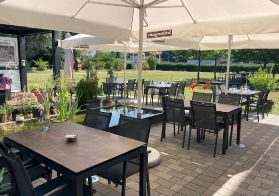 Gartenausstellung Restaurant Looping Staad
